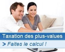 Baisse de la taxation des plus-values immobilières
