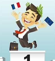 Les banquiers français plébiscités en Europe...