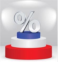 «Les taux les plus bas d'Europe»