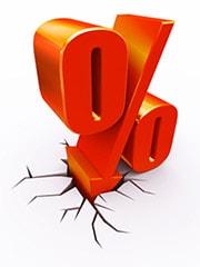 Taux de prêt immobilier : baisse record en mars