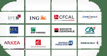 Je compare en temps réel les solutions de 66 banques