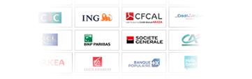 Banques partenaires Cyberprêt