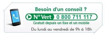 Numero vert cyberpret.com : 0 800 711 117